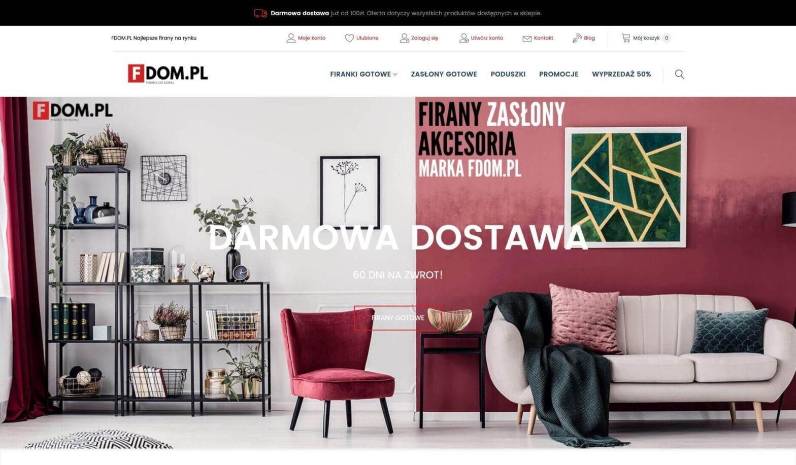 FDOM.PL - Najlepsze firany na rynku