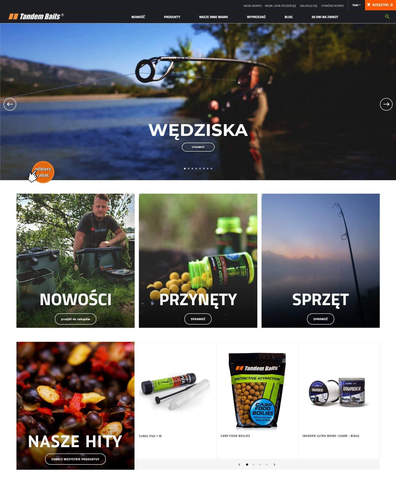 tandembaits.com - sklep internetowy dla wętkarzy