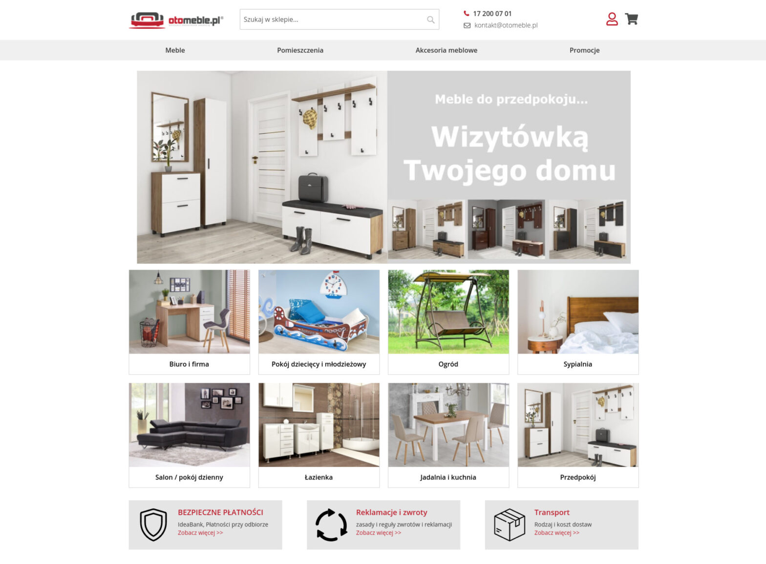 otomeble.pl - meble, wyposażenie wnętrz, akcesoria meblowe