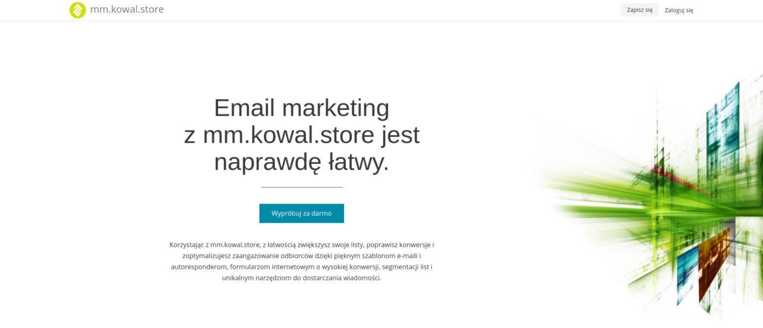 mm.kowal.store - system automatycznego marketingu email